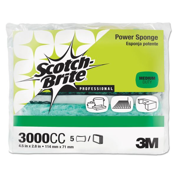Scotch-Brite -Brite Power Pads