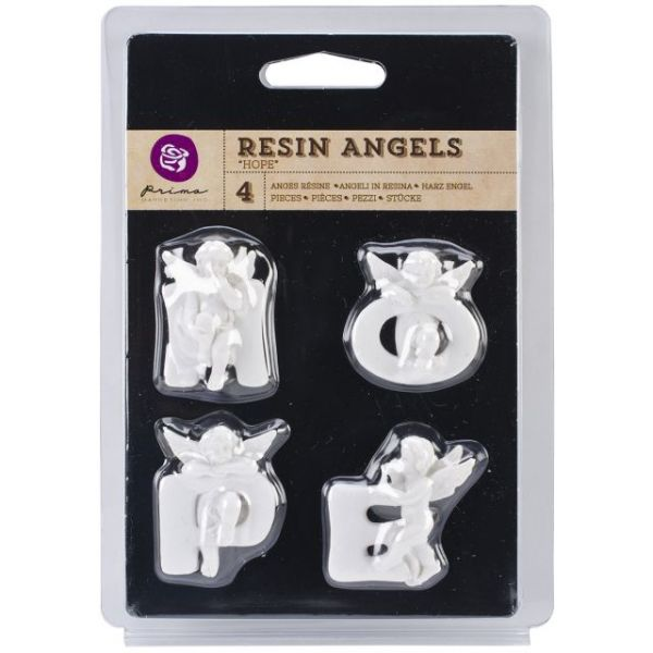 Resin Angel Embellishments