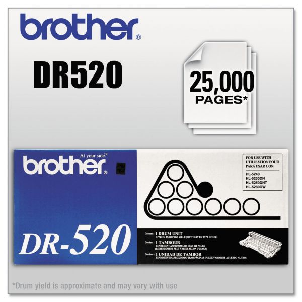 Brother DR520 Replacement Drum Unit