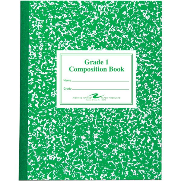 Roaring Spring First-Grade Composition Notebooks
