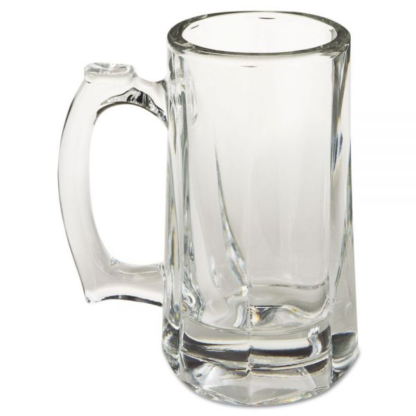 Libbey 10 oz Glass Beer Steins