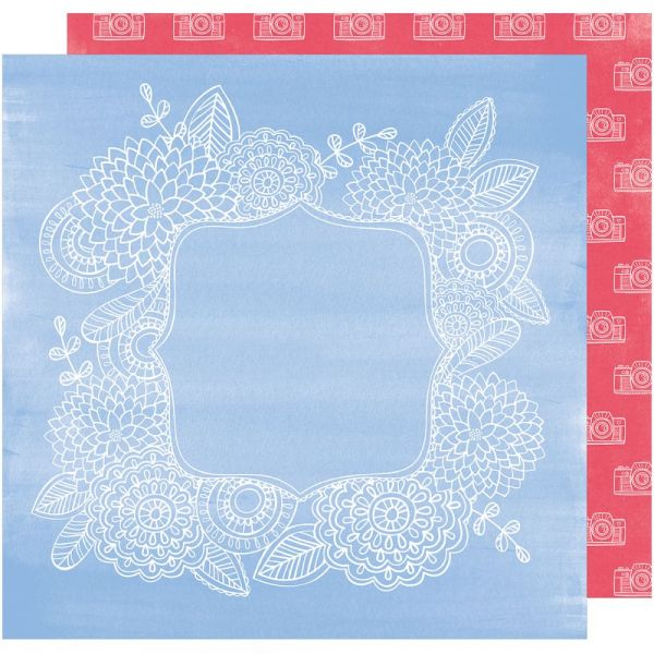 "Amy Tan Oh Happy Life Double-Sided Cardstock 12""X12"""