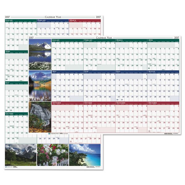 House of Doolittle Earthscapes Yearly Wall Calendar