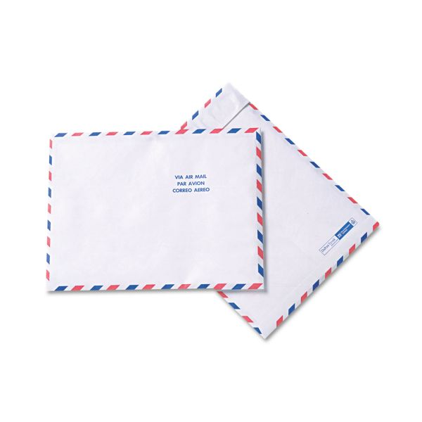 "Quality Park 10"" x 13"" Tyvek USPS Air Mail Envelopes"