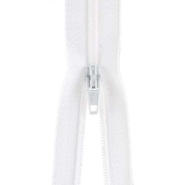 Plastic Robe Zipper 36""