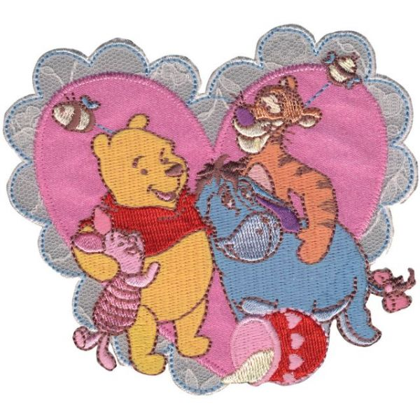 Disney Winnie The Pooh Iron-On Applique