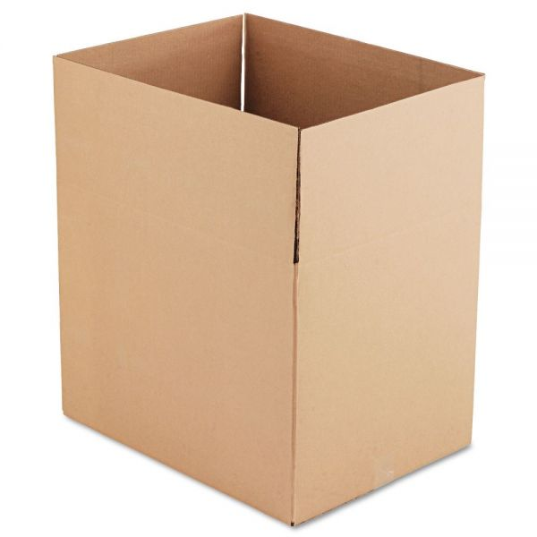 Universal Corrugated Kraft Fixed-Depth Shipping Boxes