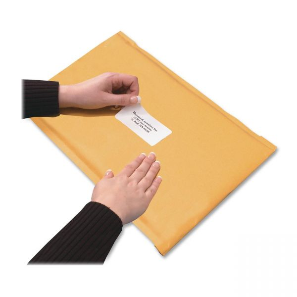 Quality Park Redi-Strip Bubble Mailers with Labels