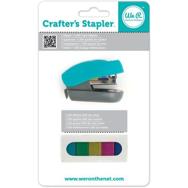 Crafter's Stapler W/1,500 Staples