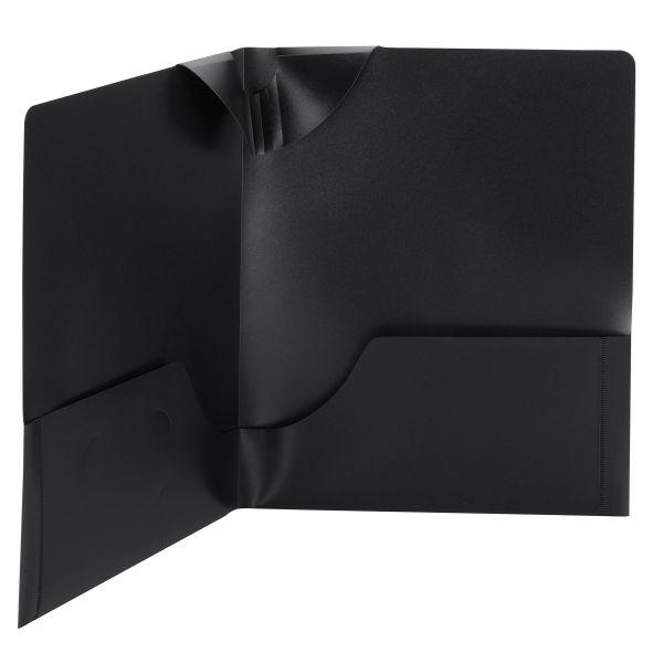 Smead Smead Lockit Two-Pocket Folders