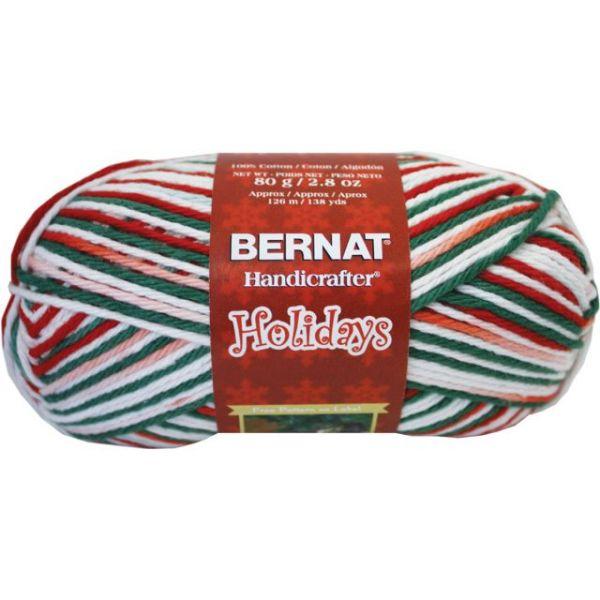 Bernat Handicrafter Holidays Yarn - Mistletoe