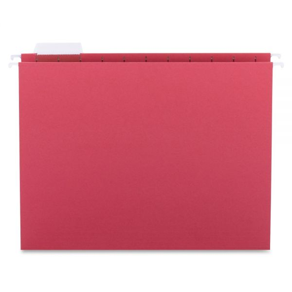 Sparco Colored Hanging File Folders