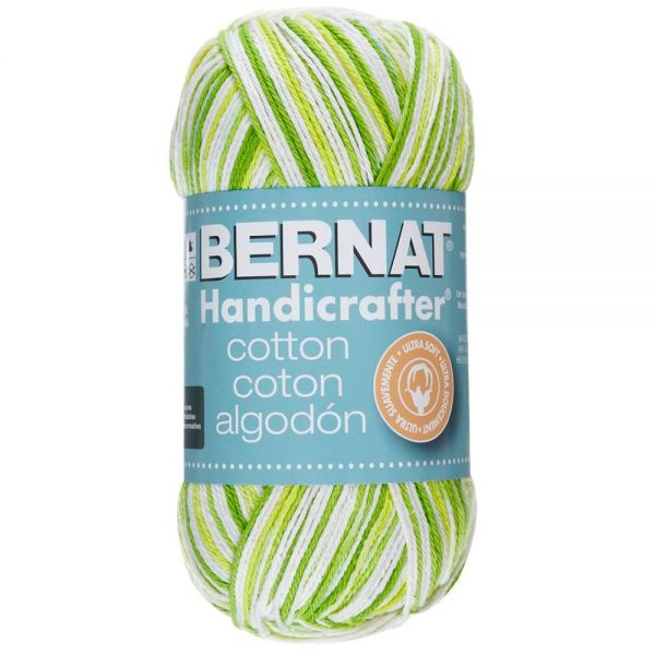 Bernat Handicrafter Cotton Yarn - Key Lime Pie