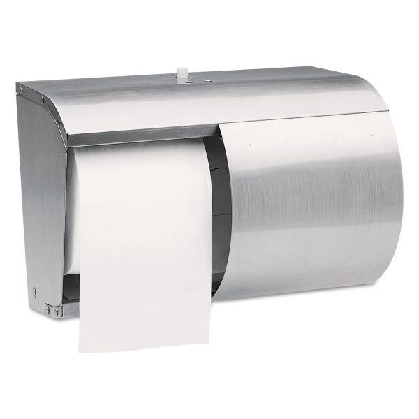 Kimberly-Clark Professional Coreless Double Roll Toilet Paper Dispenser
