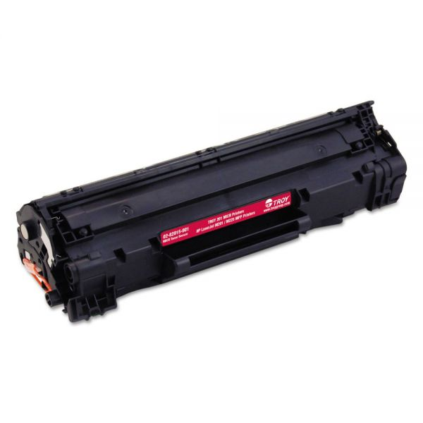 TROY 0282016001 283X High-Yield MICR Toner Secure, Alternative for HP CF283X, Black