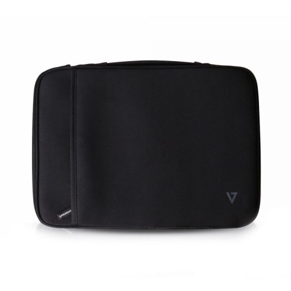 "V7 Elite CSE4-BLK-9N Carrying Case (Sleeve) for 13.3"" Notebook, Tablet, Ultrabook, Chromebook, MacBook Air - Black"