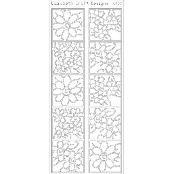 Daisies In Frames Peel-Off Stickers