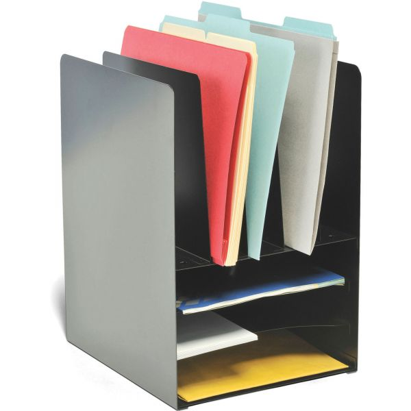 MMF Steelmaster Combination Desktop File Organizer