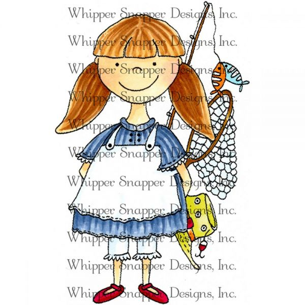 "Whipper Snapper Cling Stamp 4""X6"""