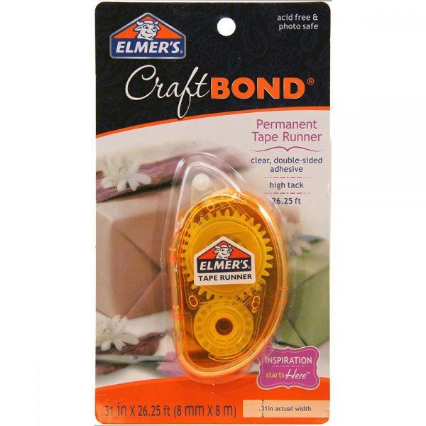 Elmer's CraftBond Permanent Tape Runner