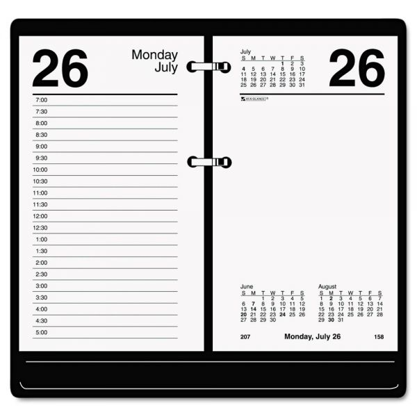 At-A-Glance Recycled Loose-Leaf Desk Daily Calendar Refill