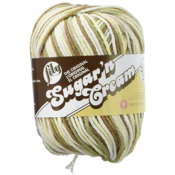Lily Sugar'n Cream Super Size Yarn - Wooded Moss