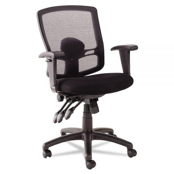 Alera Etros Series Petite Mid-Back Multifunction Mesh Office Chair