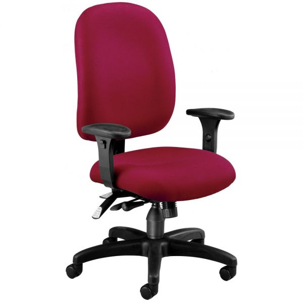 OFM Ergonomic Multi-Adjustable ComfySeat Task Chair with Arms
