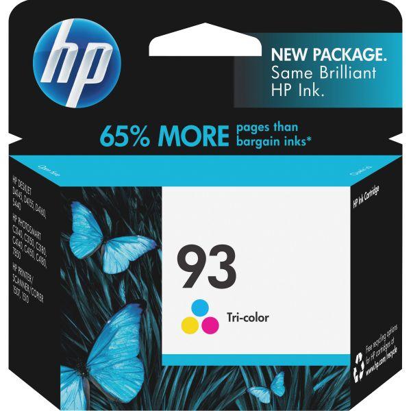 HP 93, (C9361WN) Tri-color Original Ink Cartridge