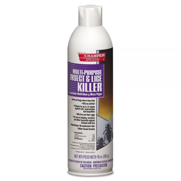 Chase Products Champion Sprayon Multipurpose Insect & Lice Killer