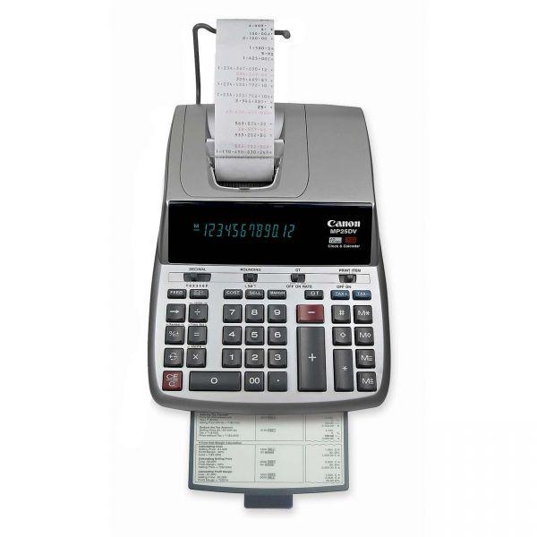 Canon MP25DVS Desktop Printing Calculator