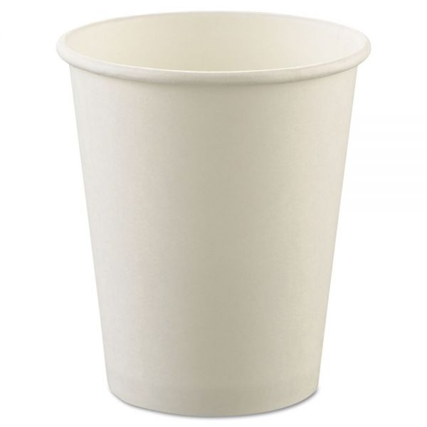 SOLO Uncoated 8 oz Paper Cups