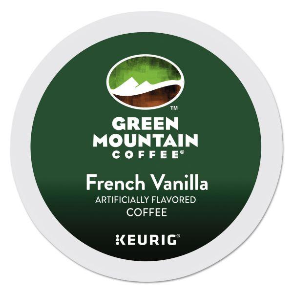 Green Mountain Coffee French Vanilla Coffee K-Cups, 24/Box