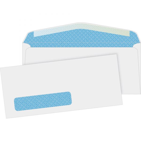 Business Source Security Window Envelopes