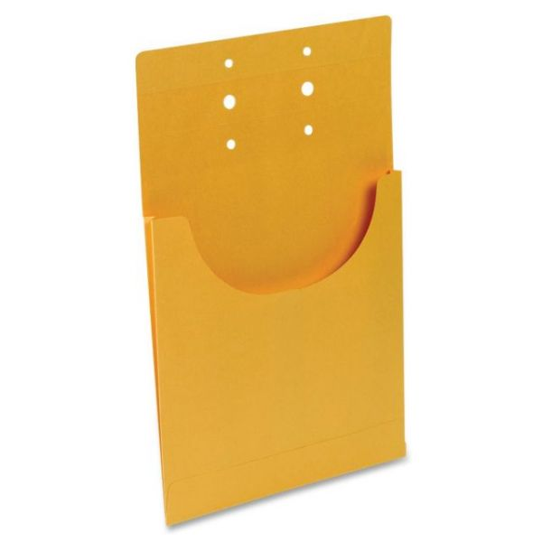 Business Source Kraft Classification Pockets