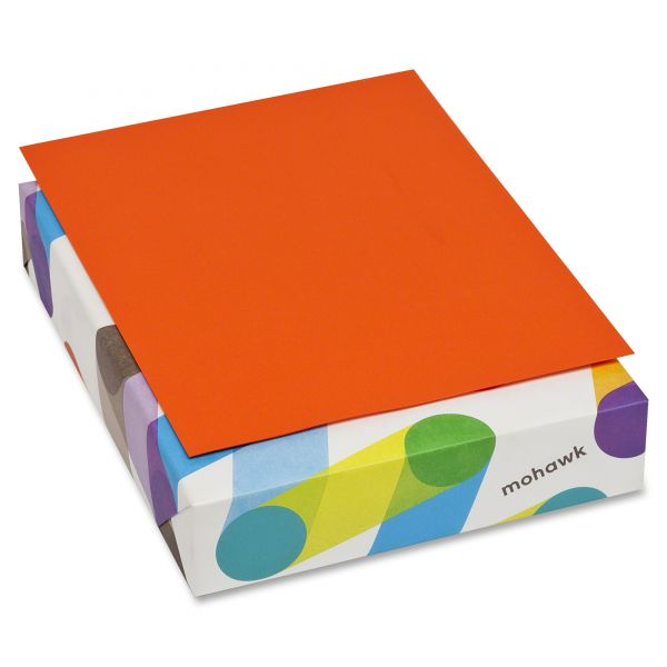 Mohawk Brite-Hue Colored Paper - Orange