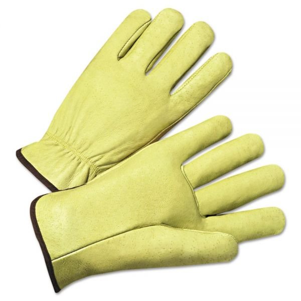 Anchor Brand 4000 Series Pigskin Leather Driver Gloves, XL