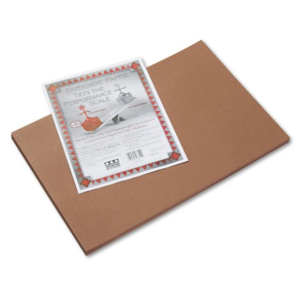 Riverside Brown Construction Paper