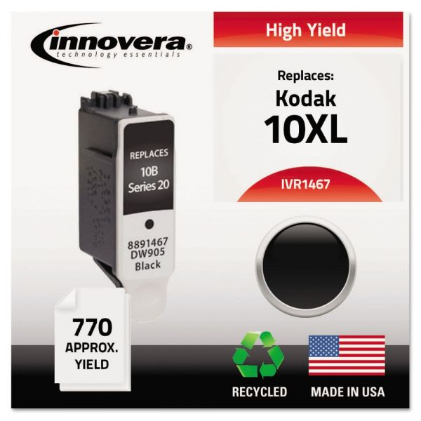 Innovera Remanufactured Kodak 10XL High-Yield Ink Cartridge
