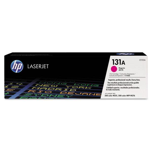 HP 131A, (CF213A) Magenta Original LaserJet Toner Cartridge