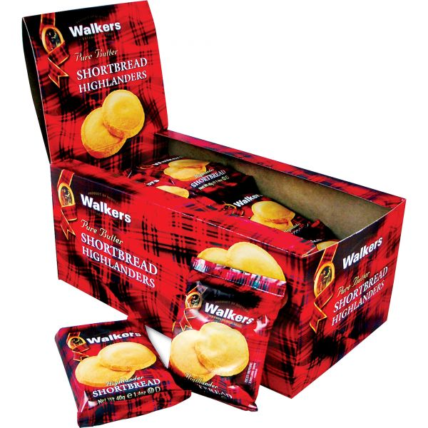 Walkers Pure Butter Shortbread Highlanders