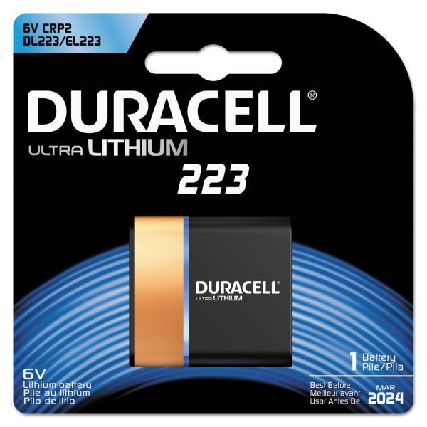 Duracell 223 Ultra Photo Battery