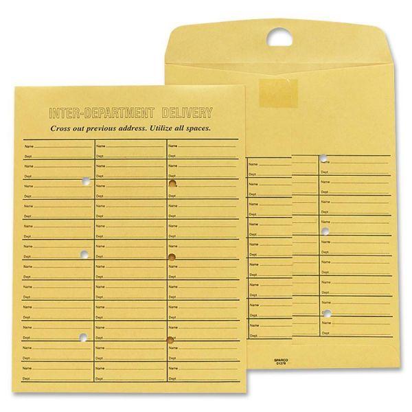 Sparco Reuse Inter-Dept 2 Sides Print Envelopes