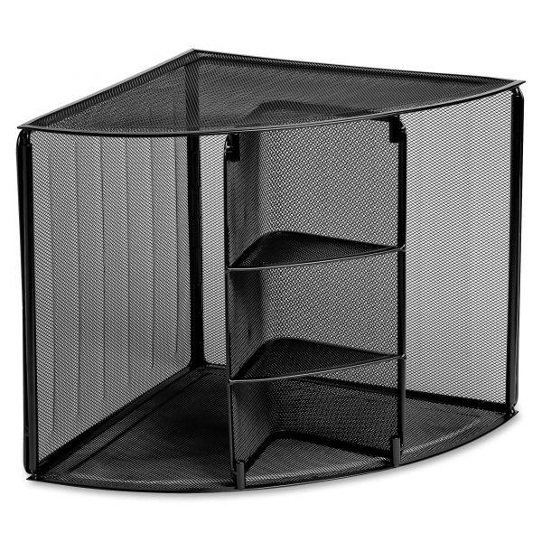 Rolodex Expressions Mesh Corner Shelf