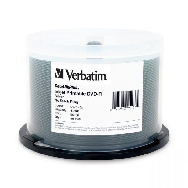 Verbatim DataLifePlus Recordable DVD Media