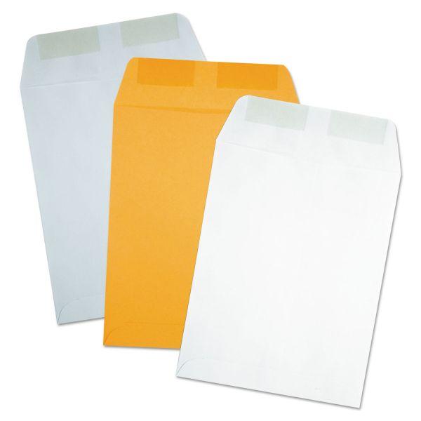 Quality Park Catalog Envelope, 9 x 12, Executive Gray, 250/Box