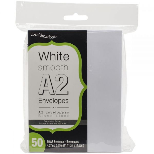 "Heavyweight A2 Envelopes (4.375""X5.75"") 50/Pkg"