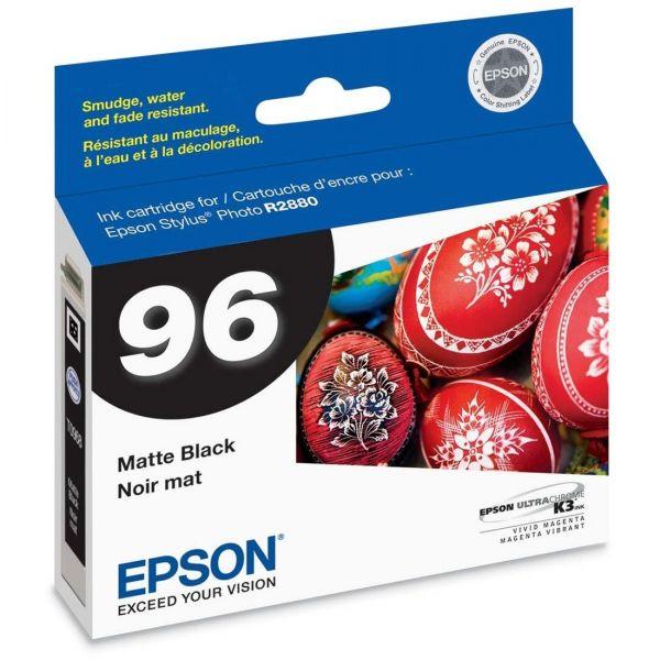 Epson T0968 Matte Black Ink Cartridge (T096820)