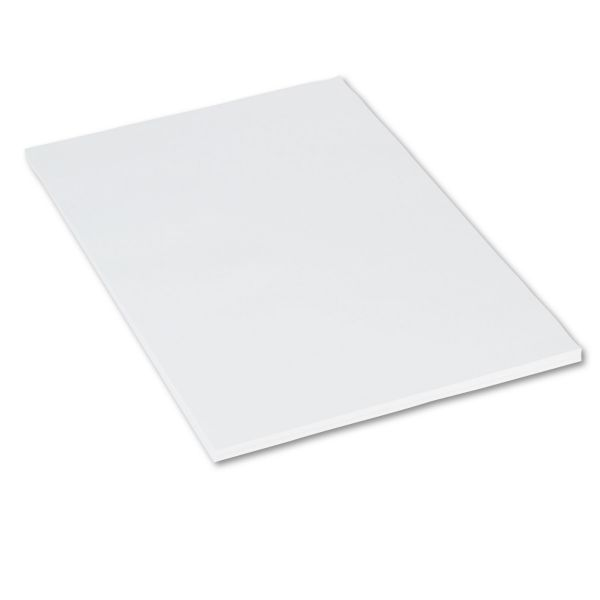 Pacon Medium Weight Tagboard, 36 x 24, White, 100/Pack