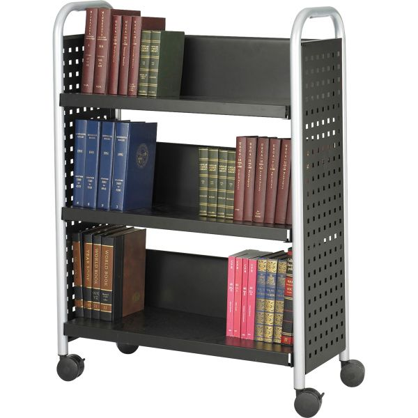 Safco Scoot Single-Sided Book Cart